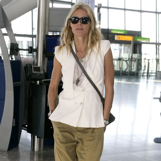 Gwyneth Paltrow Wearing White Vest