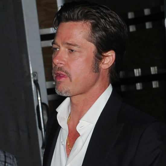 Brad Pitt Wears His Wedding Ring | Pictures