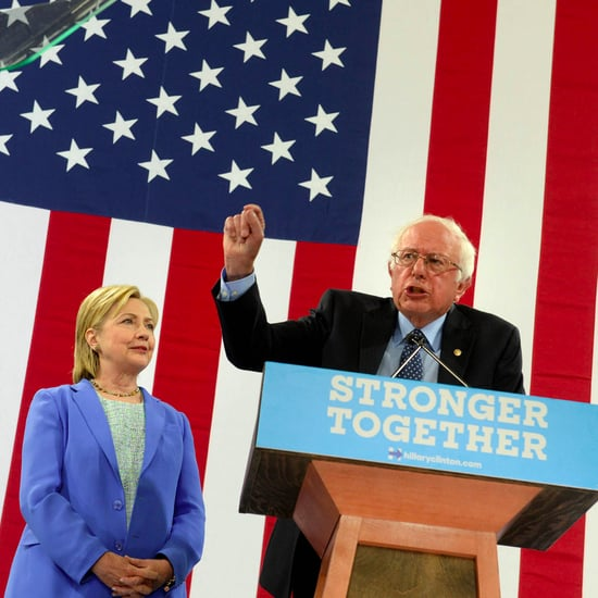Bernie Sanders Comments on Trump While Endorsing Clinton