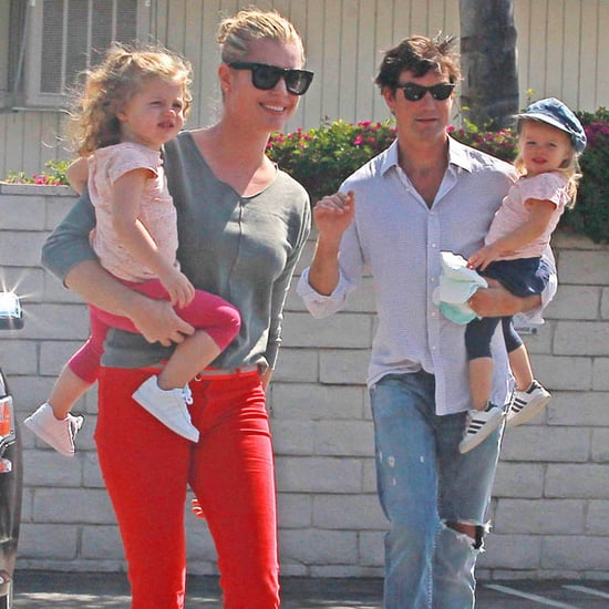 Pictures of Rebecca Romijn and Jerry O'Connell With Charlie and Dolly