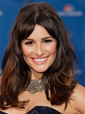 Lea Michele at 2010 Emmy Awards