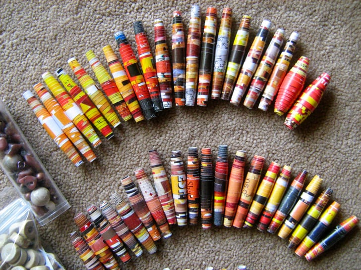 Paper Beads | 221 Upcycling Ideas That Will Blow Your Mind ...