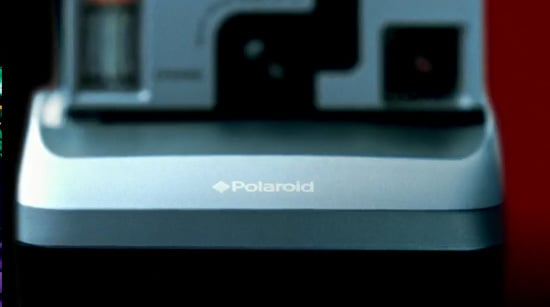 Polaroid Instant Camera Close-Up