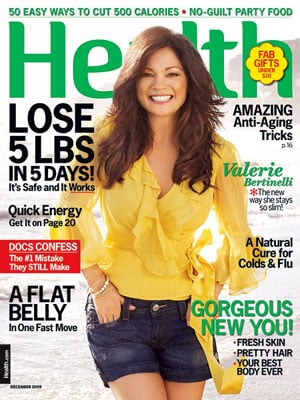Valerie Bertinelli on the Cover of Health Magazine