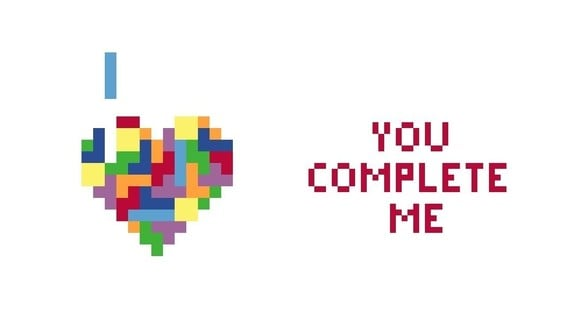 You Complete Me Tetris Cross-Stitch Pattern ($5)