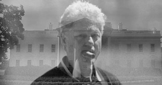 Donald Trump Releases 15-Second Horror Movie Starring Bill Clinton As a Rapist