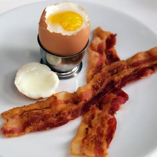 Bacon and Eggs | Dorm Room Food Hacks