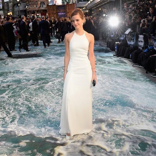 Emma Watson Walks on Water!