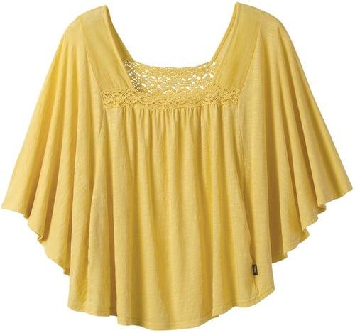 prAna Rita Shirt - Slub Cotton Jersey, Short Sleeve (For Women)