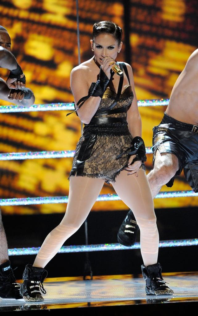 Jennifer Lopez Steps Back in the Ring