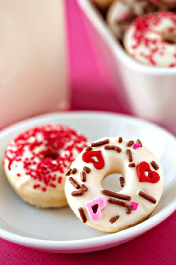 Valentine's Day Mini Doughnuts