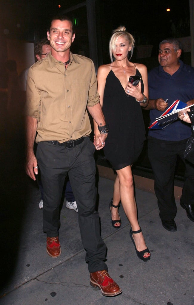 They celebrated their 10th wedding anniversary in September 2012 with a date night.