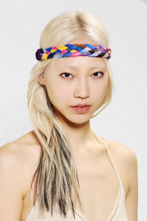 Keep your fringe in place with this chunky Braided Headwrap ($7, originally $12) from Urban Outfitters.