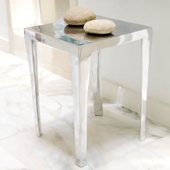 Steal of the Day: Wisteria Aluminum Side Table
