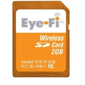 """Wireless """"Eye-Fi"""" Photo Card Available in More Places"""