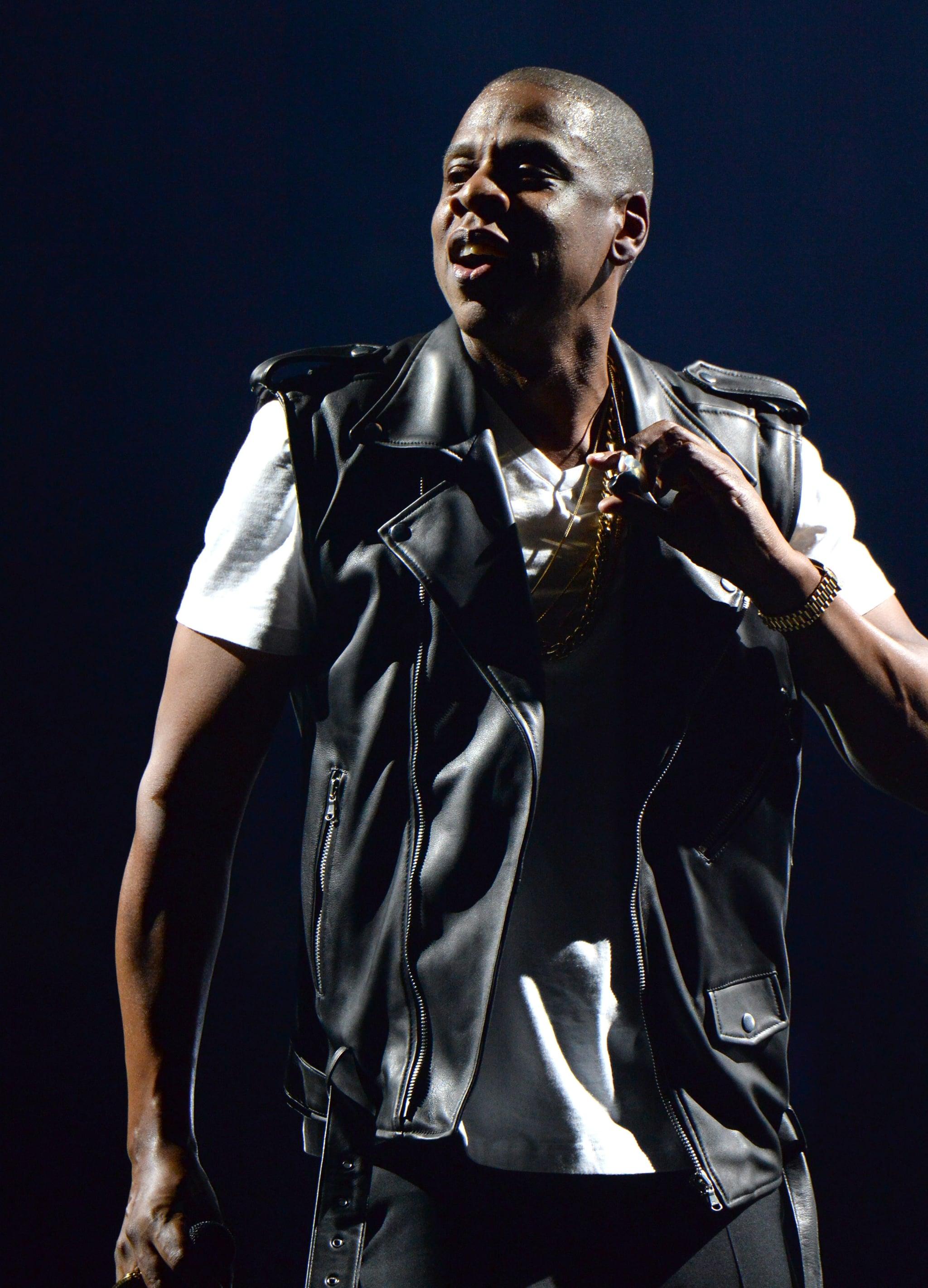 Jay Z in BLK DNM