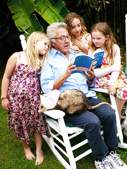 Why Dustin Hoffman's 9-Year-Old Granddaughter Is Crazy Jealous of His Latest Role