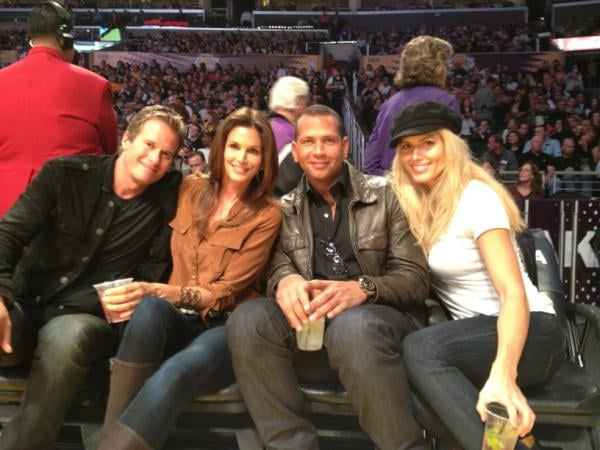 Front and Centre at The Lakers Game