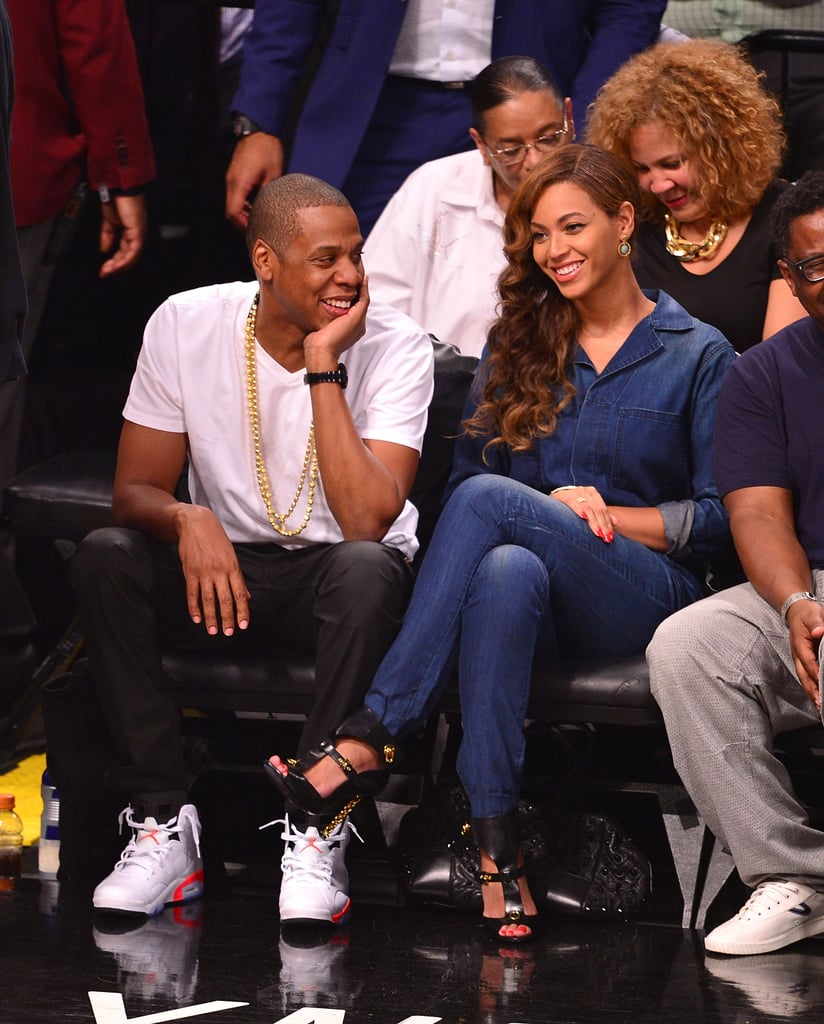 Beyoncé and Jay Z Don't Appear Bothered by the Solange Drama