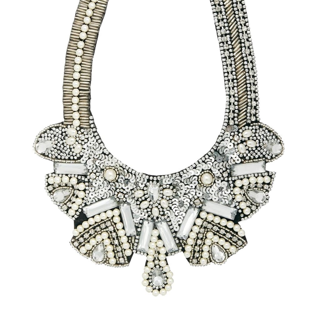 It's easy to make a statement, thanks to ASOS's pearl necklace ($27).