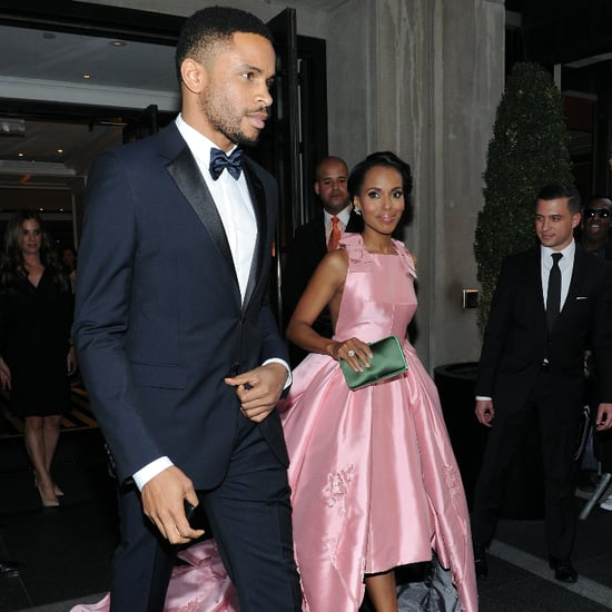 Kerry Washington and Nnamdi Asomugha Met Gala May 2015