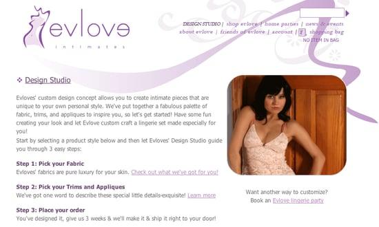 Fab Site: EvloveIntimates.com