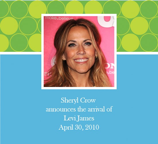 Sheryl Crow Adopts a Baby Boy