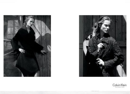 Jourdan Dunn, Edita Vilkeviciute, and Jac Are All Fall 2009 Calvin Klein Girls