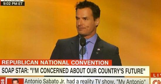 CNN Chyron Roasts Antonio Sabato Jr.