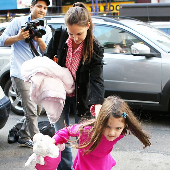 Katie Holmes and Suri Cruise in NYC Pictures