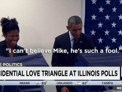 President Obama Gets Heckled At The Illinois Polls And Is Characteristically Smooth In Response