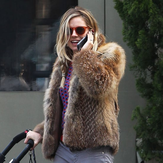 Sienna Miller With Marlowe Sturridge in NYC   Pictures