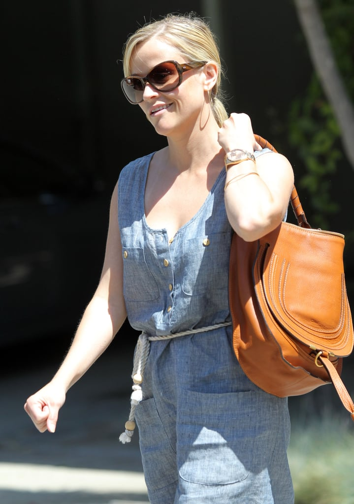 Newlywed Reese Inches Closer to the Water For Elephants World Premiere!
