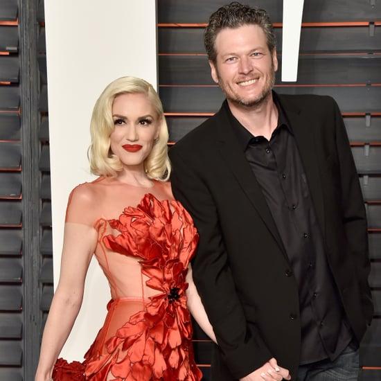 Gwen Stefani and Blake Shelton at Vanity Fair Party 2016