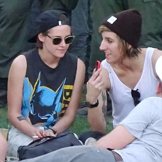 Kristen Stewart and Alicia Cargile at Coachella Pictures