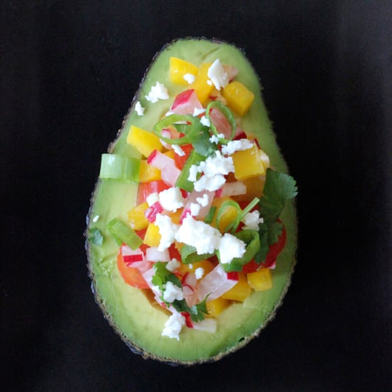 Salad in an Avocado