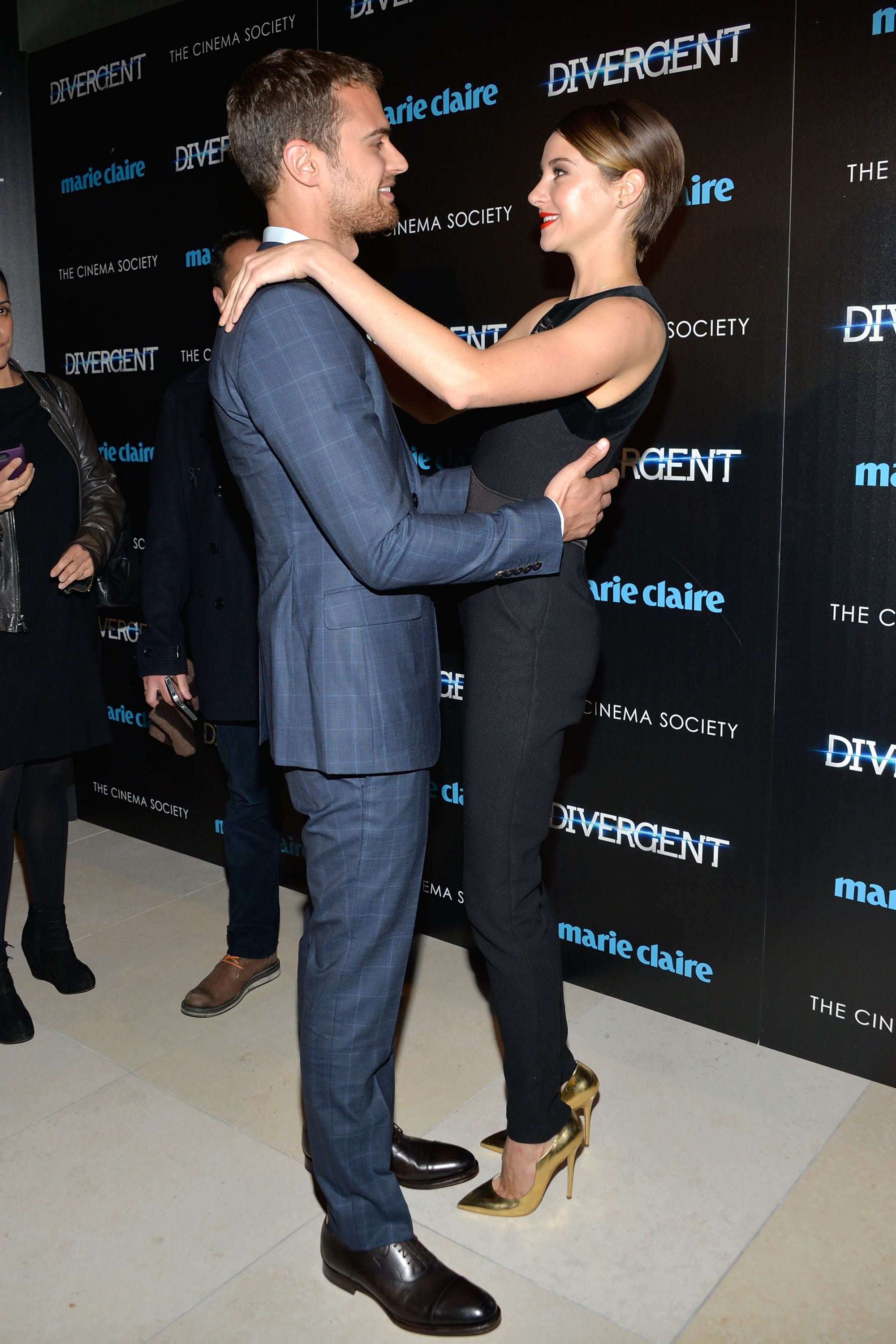 Theo and Shailene shared a sweet look at a special event in NYC in March.