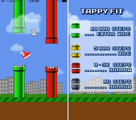 Tappy Fit Uses Fitbit Steps to Help You Beat Flappy Bird