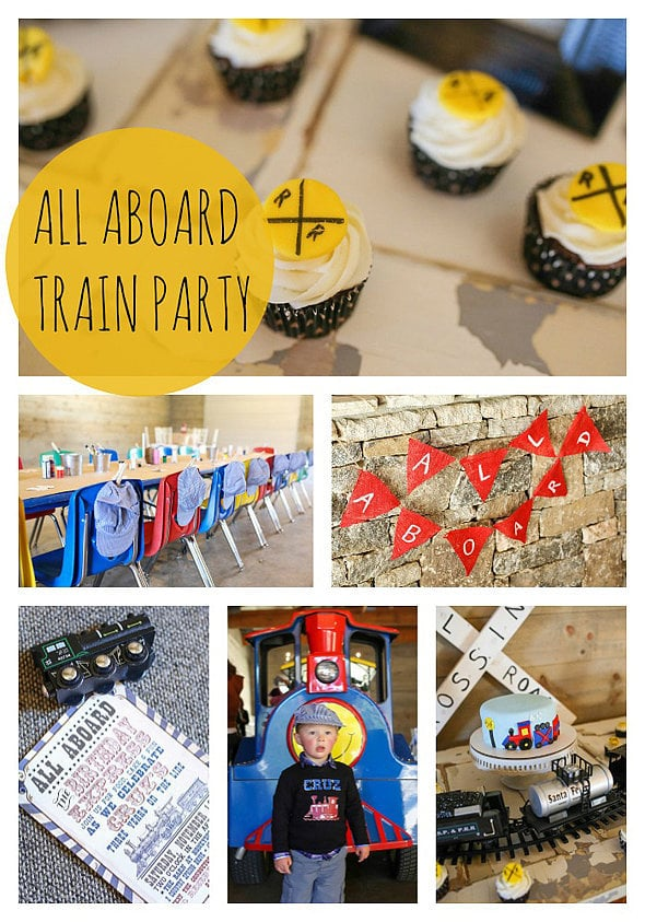 Vintage Train Birthday Party