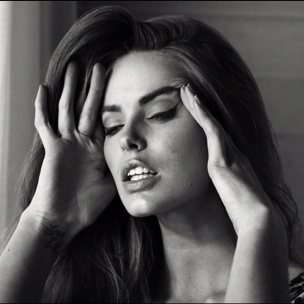 Beautiful Aussie model Robyn Lawley looks stunning in this '50s style photo shoot. Source: Instagram user chriscolls