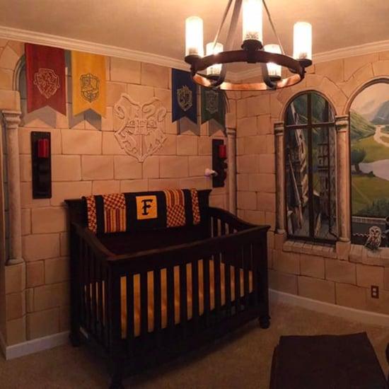 Harry Potter Nursery Decor
