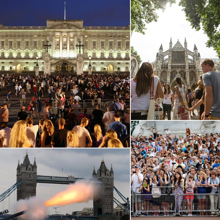 A Gun Salute and Golden Easel! London Celebrates the Royal Birth