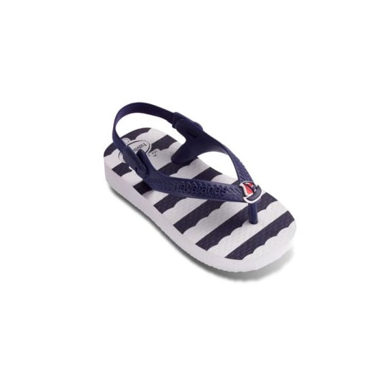 Havaianas Infant Girls' Chic Navy White Sailboat Sandals ($16)