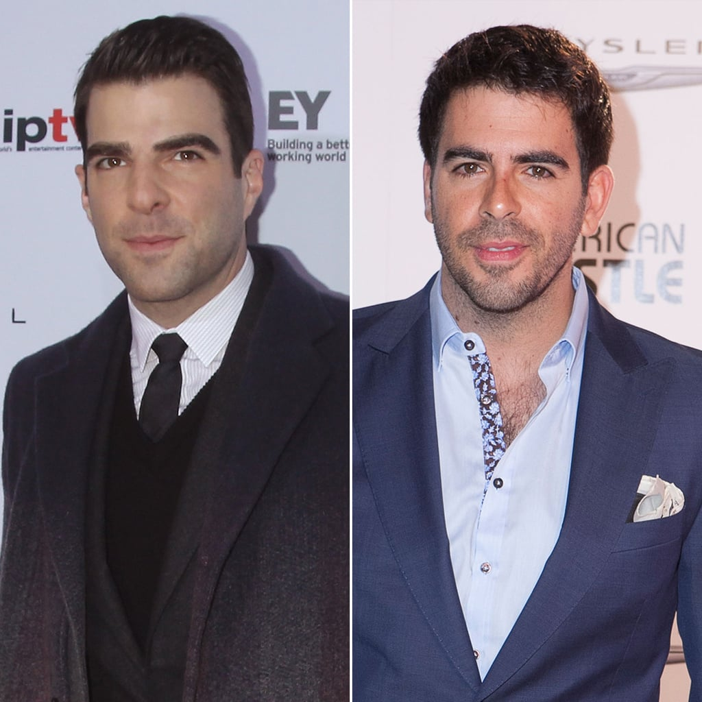 Zachary Quinto and Eli Roth