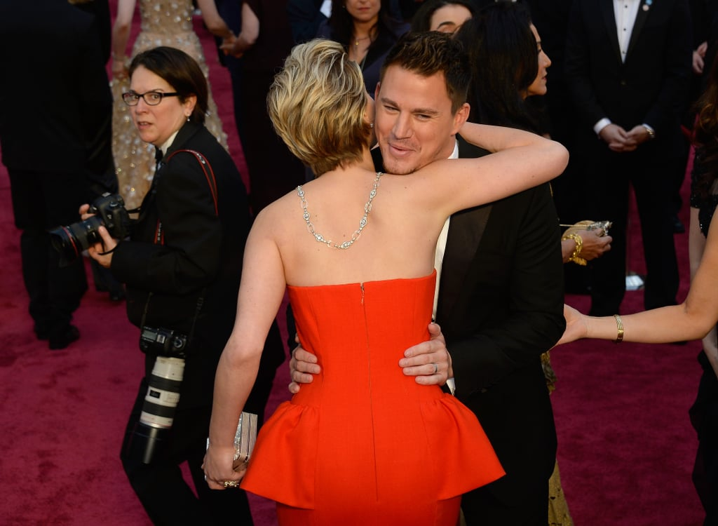 She Hugged Channing Tatum