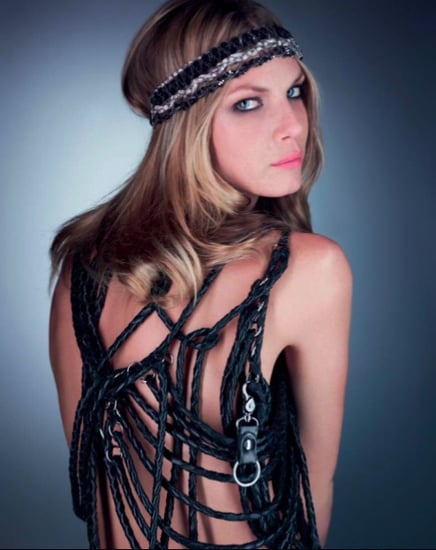 Photos of Maison Michel Spring 2011 Headwear Collection Lookbook Shot by Karl Lagerfeld