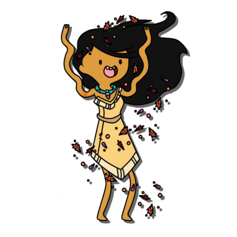 Adventure Time Pocahontas