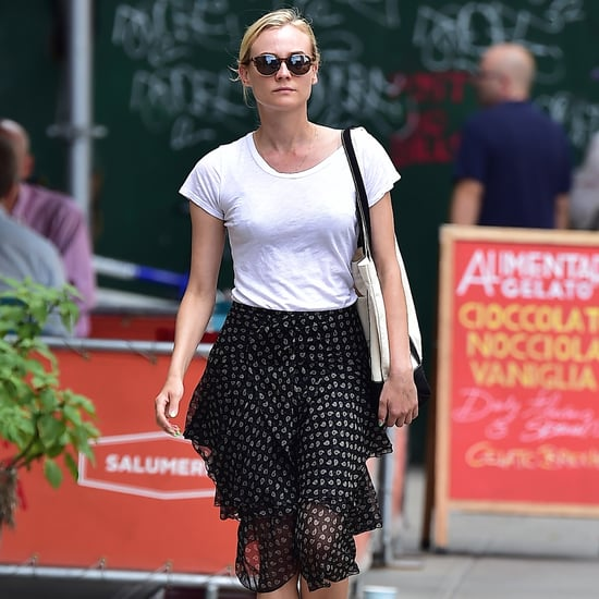 Your Fancy Skirt Is Taking on a Whole New Scene, Thanks to Diane Kruger