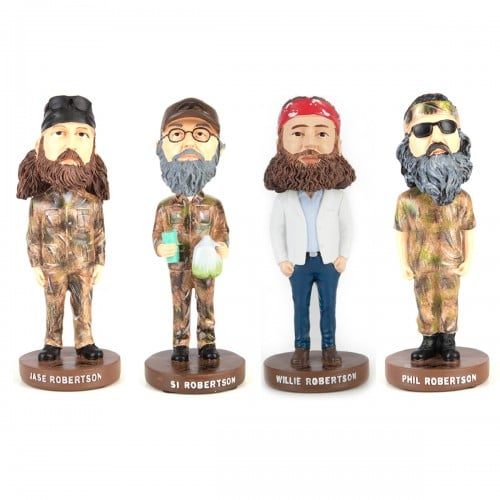 Duck Dynasty Robertson Bobbleheads  ($100)