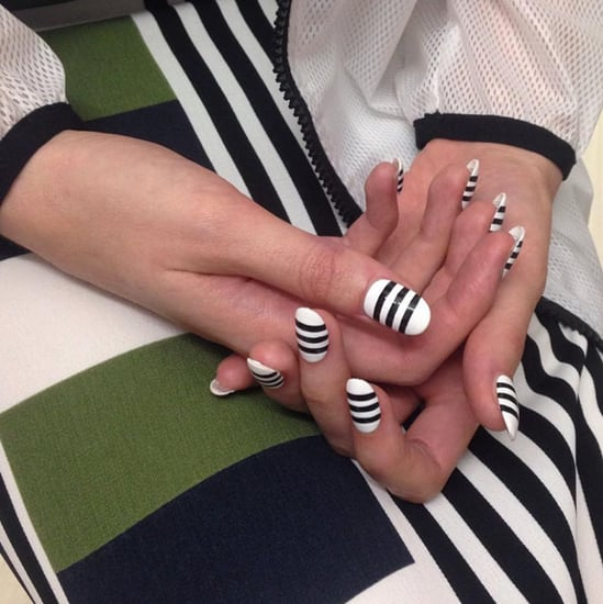 Striped Nail Art Ideas